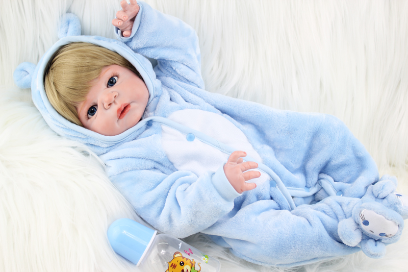 NPKCOLLECTION 55cm Full body silicone reborn baby doll toys lifelike newborn boy babies kids child brithday gift bathe toy npkcollection full silicone reborn baby doll toy lifelike 55cm newborn boy babies doll lovely birt hday gif t for girl bathe toy