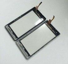 Ограниченное предложение Для Sony Xperia SP M35 M35h M35i C5302 C5303 Сенсорный экран планшета Сенсор Стекло с Рамки/ЖК-дисплей Дисплей Панель Мониторы