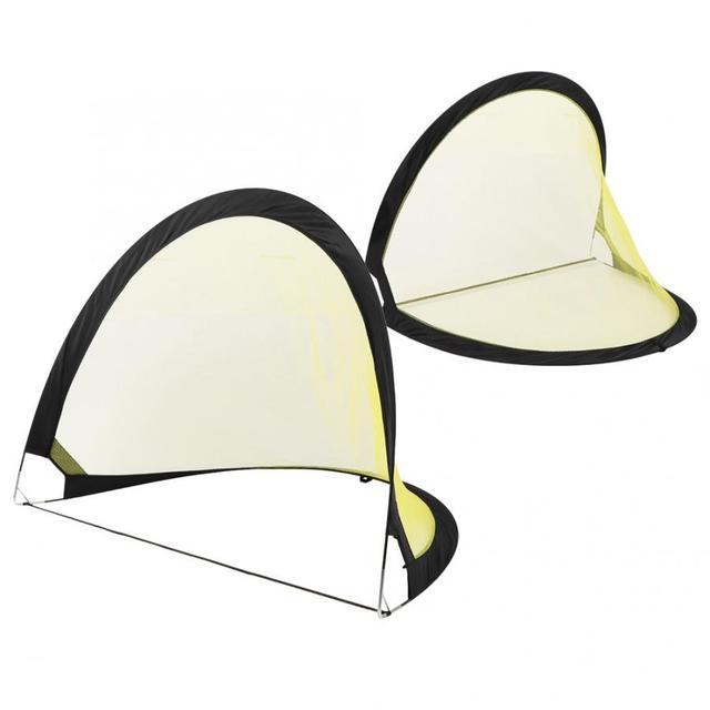 2PCS Football Net Wear Resistant Soccer Net Folding Portable Soccer Goal Net Preservative Outdoor Football Accessories