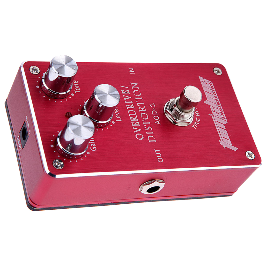 Aroma AOD-1 Electric Guitar Bass Overdrive Distortion Effect Pedal True Bypass aroma tom sline amd 3 metal distortion mini guitar effect pedal analogue effect true bypass
