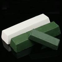 2 Pcs Sharpening Polishing Wax Compound Metal Leather Strop Razor Sharpening Paste Compound White Green