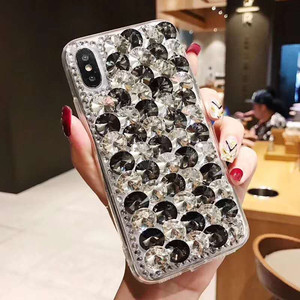 Image 4 - Etui na telefon xiaomi 10 9 MAX3 5X 6X Redmi 5 6 7 4A 6A 8A uwaga 4X 5A 7 6 8T 8 Pro luksusowe dżetów błyszczący pokrowiec pokrywa kryształ