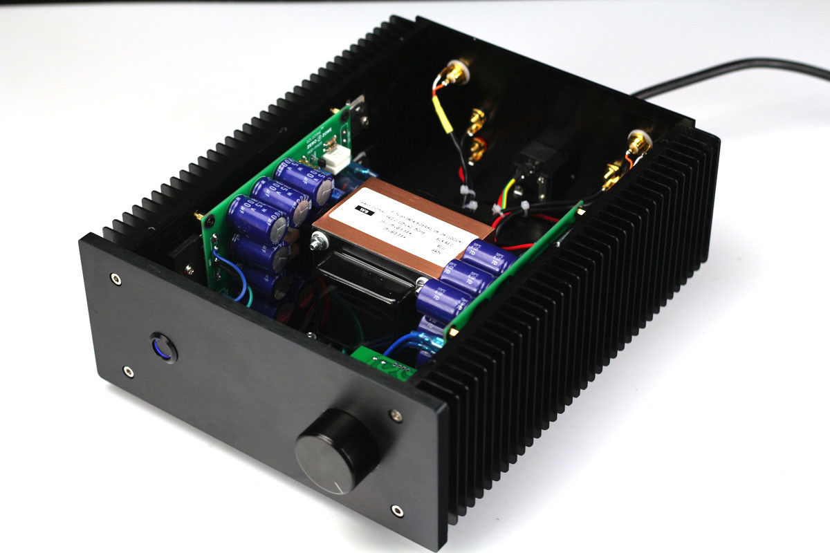 Gzlozone Assembled Pass A3 Single Ended Class A Power Amplifier Hi Fi Preamplifier With Bc550 Zerozone Finished Pa 05 Aca Fet Mos