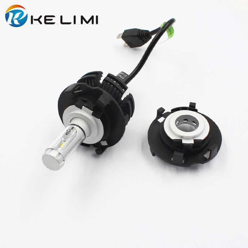 KE LI MI H7 LED Head light Adapter For Hyundai MISTRA New TUCSON Car LED bulb conversion base retainer clips For KIA carnival H7