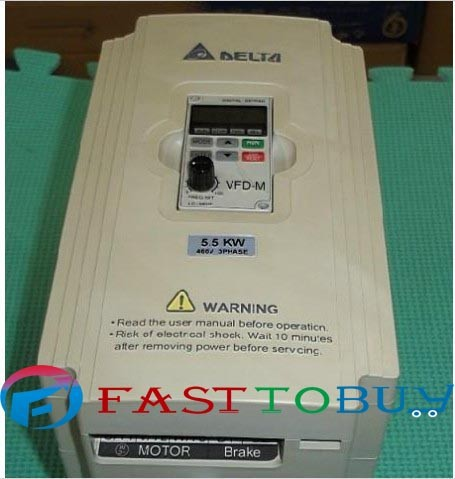 VFD-M Series VFD055M43A DELTA AC MOTOR DRIVE 380V 5.5KW New In Box ! стоимость