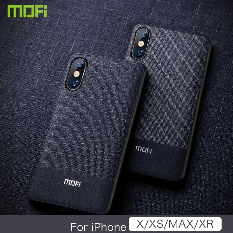 """Capa xs max para iphone, case de 6.5 """"para iphone xs max, capa mofi para iphone xr cor escura do negócio para iphone x capa"""