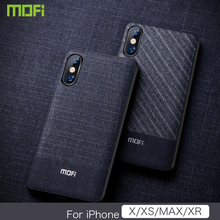 Xs Max Case Cover For iPhone Xs Max Case 6.5 For iPhone Xs Case Mofi For iPhone XR Case Business Dark Color For iPhone X Cover картаев павел xperia xz3 новые видеокарты nvidia начало продаж iphone xs и iphone xs max