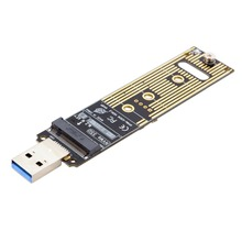 USB 3.0 to M.2 NGFF Nvme M-key SSD External PCBA Convetor Adapter Card Flash Disk