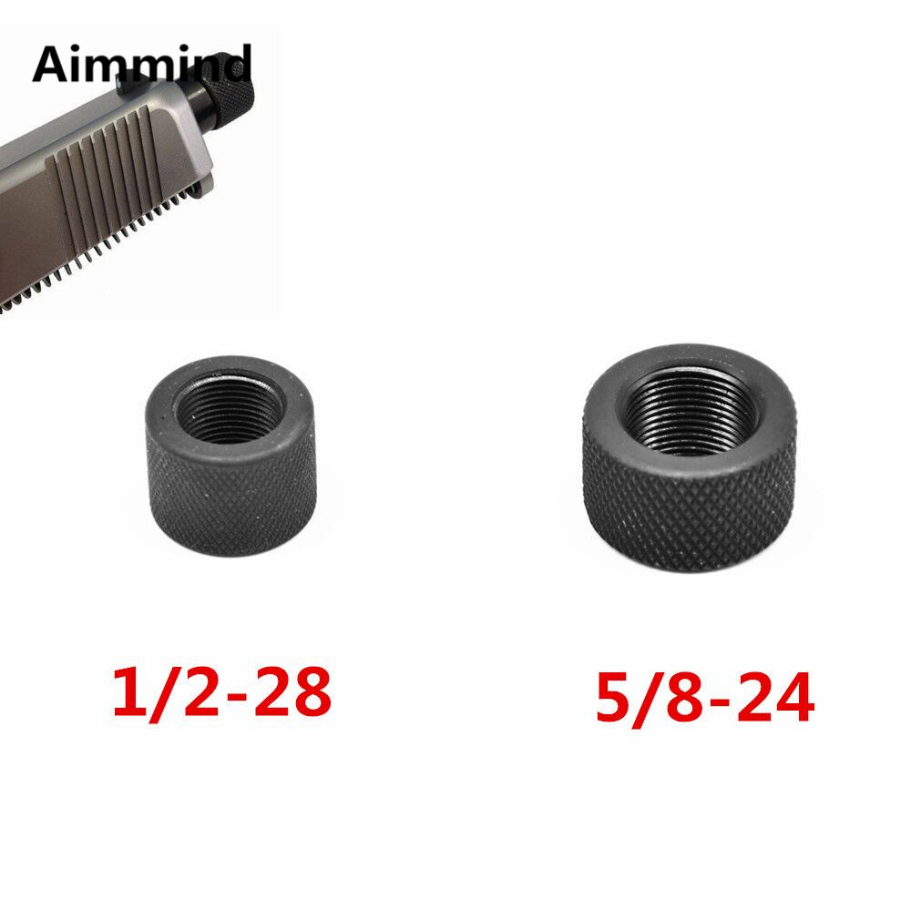 .223 .308 Steel Thread Protector 1/2-28 5/8-24 Muzzle Brake For Ruger 10/22 Thread Adaptor