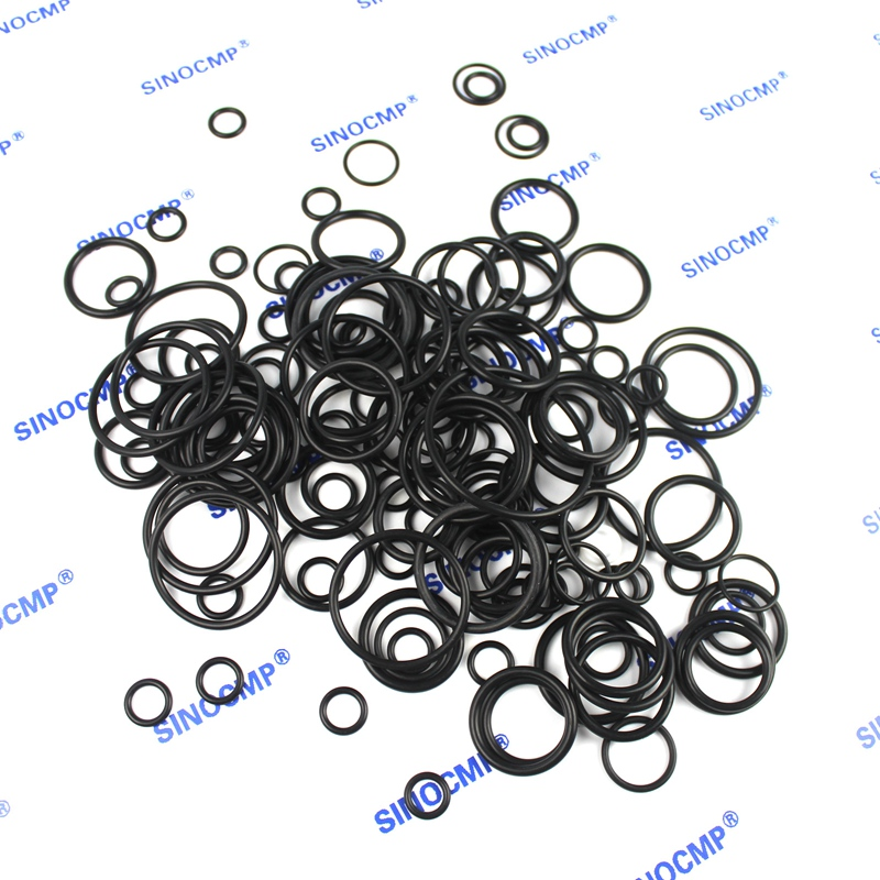 For Kobelco SK200-6 Control Valve Seal Repair Service Kit Excavator Oil Seals, 3 month warranty