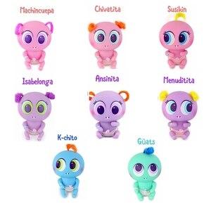 Image 5 - ألعاب جديدة دمية أطفال حديثي الولادة كاسيميتريتوس كيميريتو نياريتو مع عدة صغيرة ملحقات أطفال 8 نماذج مختلفة
