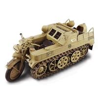 Собрать Италия 1/9 Германия HK101 полу гусеничный мотоцикл из кубиков комплект 7404