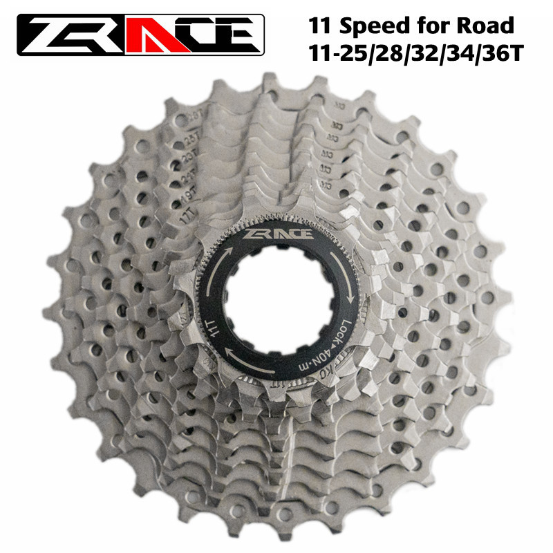ZRACE Bicycle Cassette <font><b>11</b></font> Speed Road Bike Freewheel <font><b>11</b></font>-25T / 28T / 32T / 34T / <font><b>36T</b></font>, 11s Cassettes Compatible with Ultegra 105 image