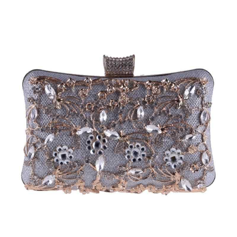 1e0b72ee3437 ... LUXY MOON алмаз вечерние сумки золото серебро черный день сцепления со  стразами вечерние клатчи женские свадебные
