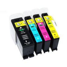 4PK  Ink Cartridge for Lexmark 100 100XL s305 s308 s505 s508 s605 pro708 pro205