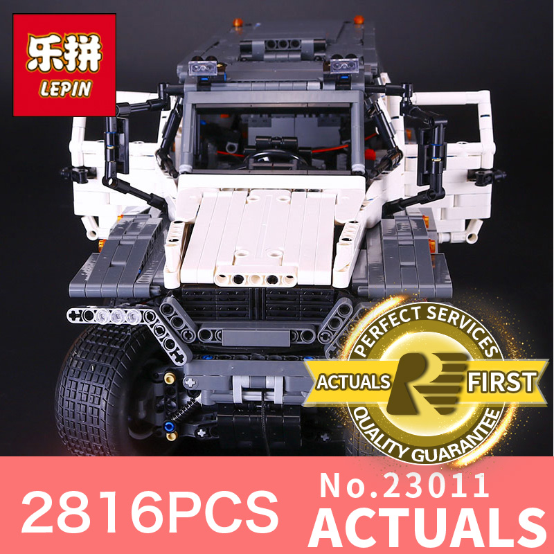 NEW LEPIN 23011  technic series 2816Pcs Off-road vehicle Model car Building blocks Bricks for Children Christmas gifts