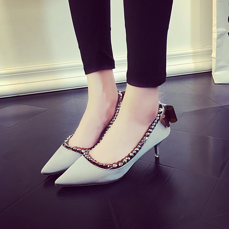 ENMAYER 2014 New Design Sexy Red Bottom High Heel Shoes