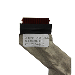 Image 2 - וידאו מסך להגמיש עבור Dell 3542 3541 5542 7542 3543 3546 3549 15 3000 LCD LED LVDS תצוגת סרט כבל 450.00H01.0021 0FKGC9