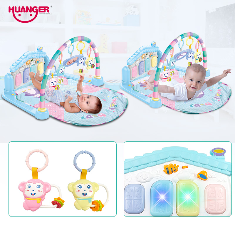 Huanger Baby Multifunction Play Rug Develop Crawling Children s Piano Music Mat Infant Fitness Carpet Educational