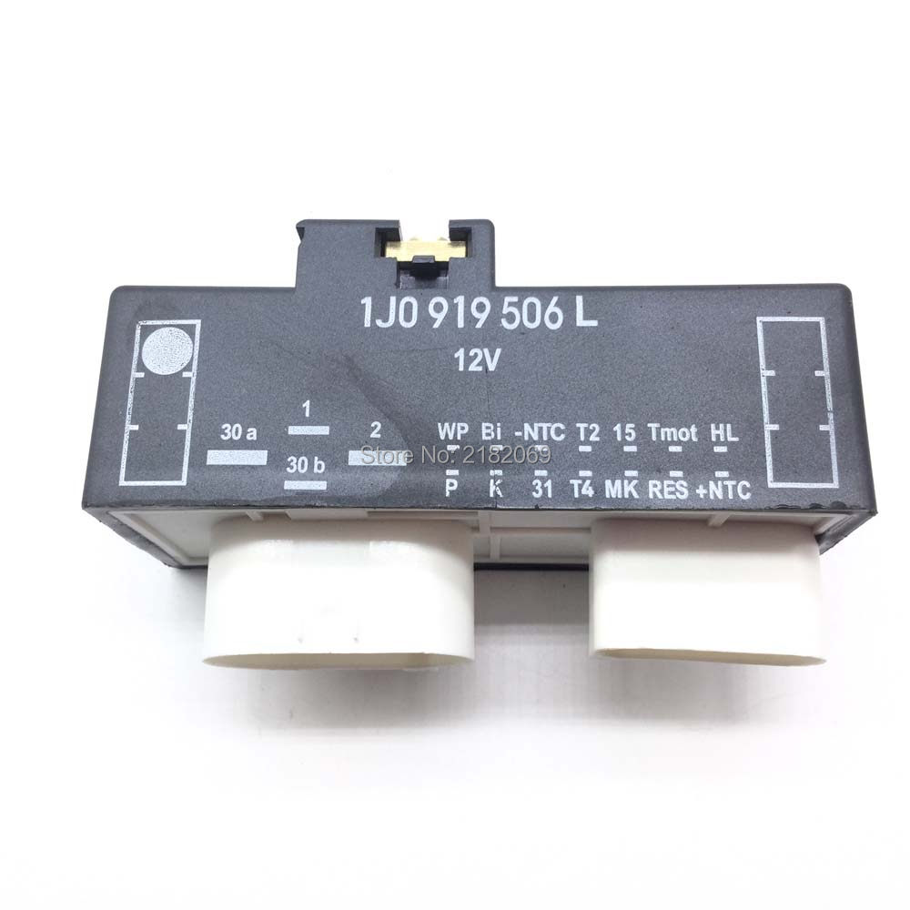 Online Shop Radiator Cooling Fan Relay Control Module For Vw 2002 Dodge Caravan Wiring 1j0919506l1j0 919 506l Switch Bora Golf 5 6
