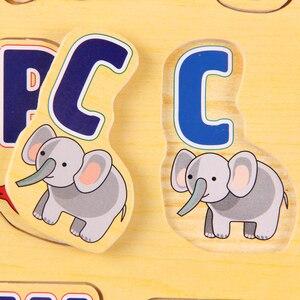 Image 3 - Развивающая деревянная головоломка для детей, 39 х29 см