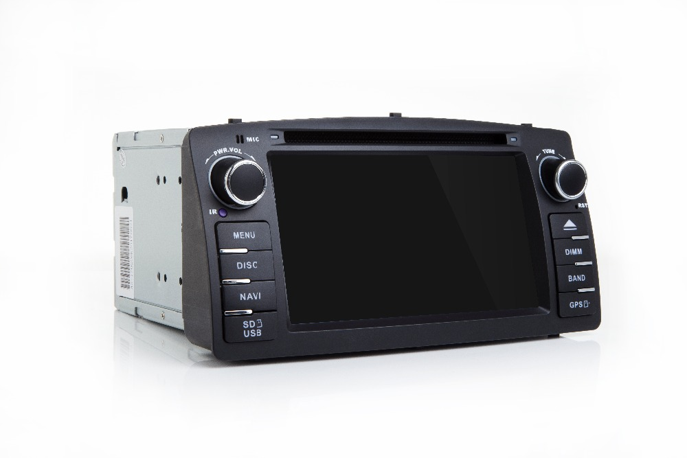 OTOJETA Summer Promotion-Pure Android 8.0 car dvd player for TOYOTA COROLLA E120 BYD F3 TDA7851 amplifer good radio gps recorder