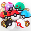 HOT Crampon 7pcs/set Pokedoll Pokeball Plush Toy Chain Stuffed Pendant Doll Master Ball Kids Babe Ball Pikachu Toys 8cm