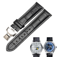 WENTULA watchband for BALL  calf-leather band cow leather Genuine Leather leather strap watch band