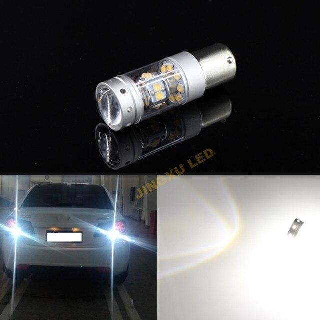 2 X Ошибка Бесплатный 6000 К Белый 140 Вт 1400LM СИД Наивысшей Мощности обратный Резервное копирование Свет проект Лампа Для VW Jetta MK6 2010-2014