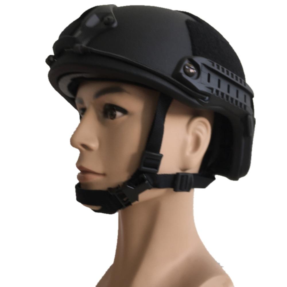 DEWBest FDK 04 Tactical NIJ IIIA Bulletproof Helmet Hunting Fast Core Ballistic Helmet for Shooting War
