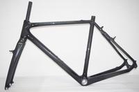 20% OFF rama Cyclocross rama z włókna węglowego v brake rama Cyclocross w Ramy rowerowe od Sport i rozrywka na