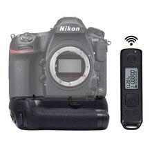 Pro вертикальный батарейный блок рукоятка держатель с 2,4G беспроводной пульт дистанционного управления для камеры Nikon D850