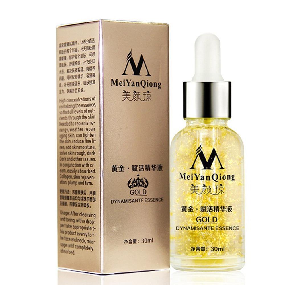 Skin Care Pure 24K Gold Essence Day Cream Anti Wrinkle ...