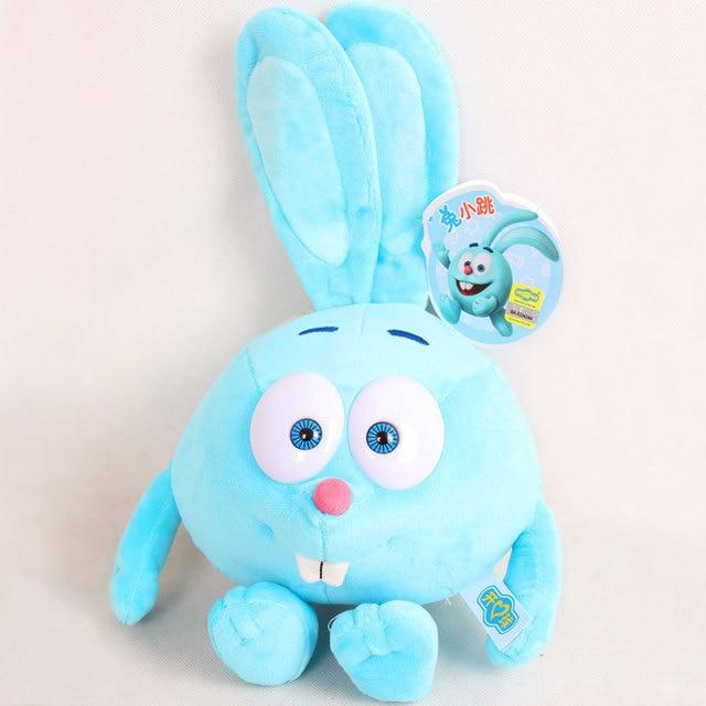 30cm Russian Smeshariki Cartoon Dolls Stuffed Animals Plush Toys Kikoriki Toy for children Kids Gifts 10 styles 072