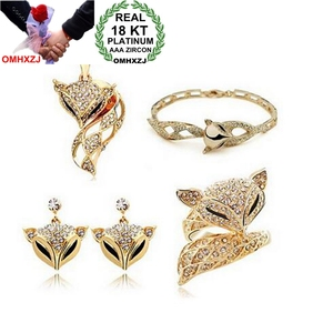 OMHXZJ AAA Zircon Crystal Gold
