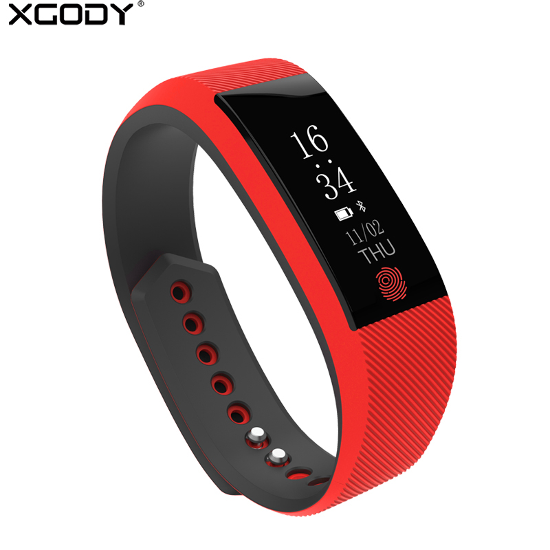 XGODY W808 Smart Watch With Heart Rate Monitor Pedometer Sleep Fitness Tracker Smartwatch Bracelet Watch Connect Android IOS
