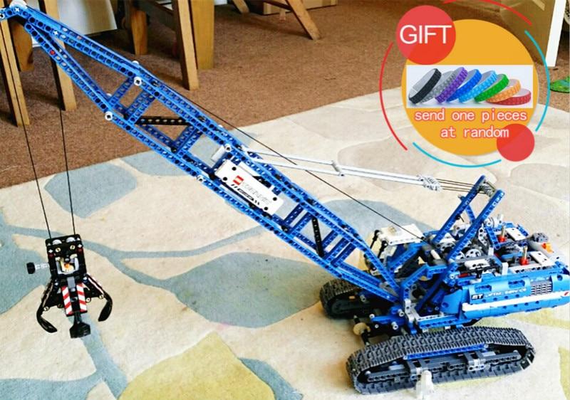 20010 1401Pcs Technical Mechanical The Crawling Crane Set Compatible with 42042 Educational Building Blocks toys ювелирное изделие 20010
