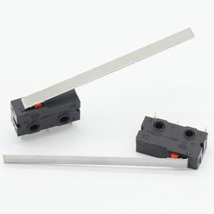 Image 1 - 10 шт., концевой выключатель, 3 Pin N/O N/C, высокое качество, новинка, 5A, 250 В переменного тока, микро переключатель