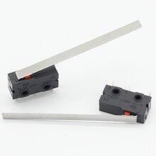 10Pcs Eindschakelaar, 3 Pin N/O N/C Hoge Kwaliteit Alle Nieuwe 5A 250VAC Micro Schakelaar