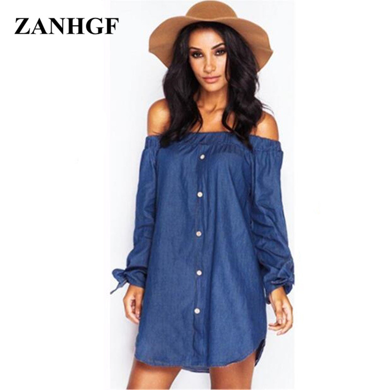 de ropa jeans denim las P293 dress dress Vestidos mujer womens dresses long de summer vestido slash women 2017 La fashion vestidos sleeve neck en bow wBIWfnqgnx