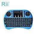 Новый Подсветкой Клавиатура Rii i8 + 2.4 ГГц Беспроводной Английский Клавиатура с Тачпадом Подсветка для Мини-ПК, Smart TV, Android TV Box, ПК