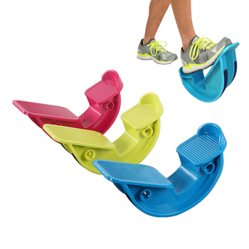 Foot Rocker Calf Ankle Stretcher Plantar Fasciitis Rocker Pain Relief Exercise Calf Stretching Plate Foot Rocker ABS фото