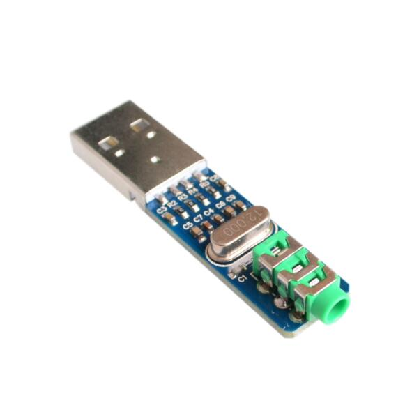 5V USB PCM2704 Powered USB Sound Card DAC Decoder Board for PC Computer ASS