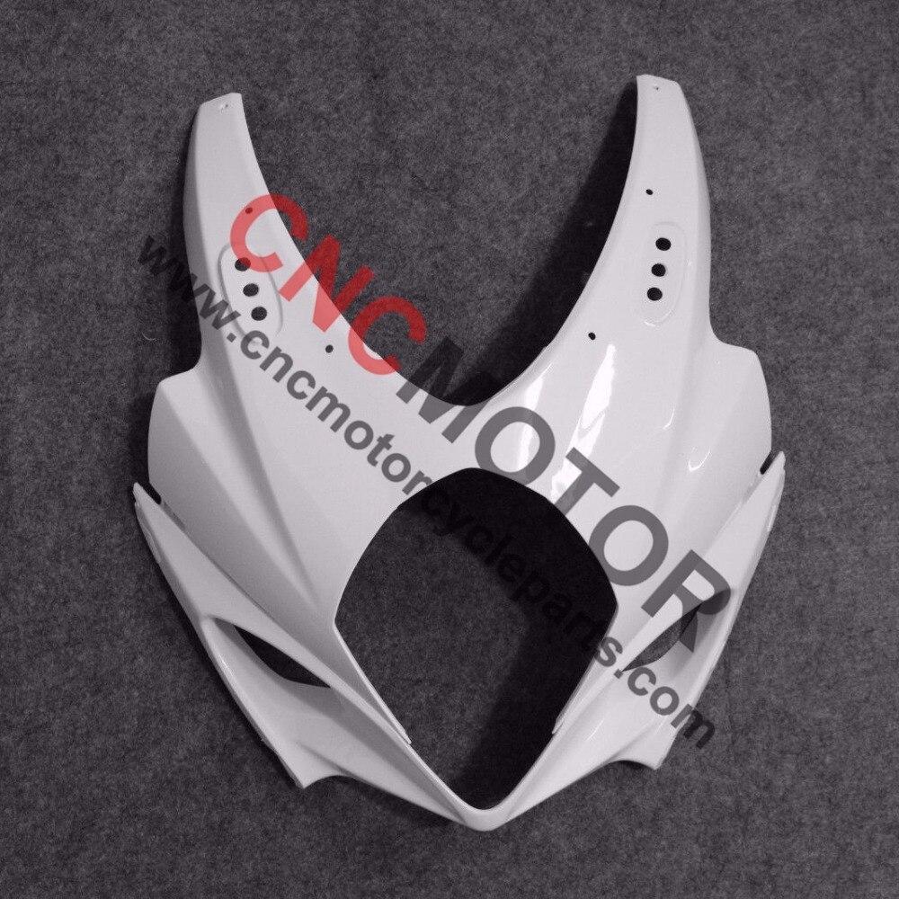 ФОТО Unpainted ABS Plastic Front Upper nose Bodywork Fairing for Suzuki GSX-R1000 GSXR1000 2007-2008