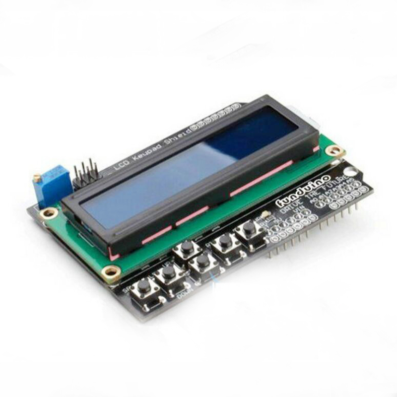 1602 LCD Keypad Shield Input and Output Expansion Board Display LCD Screen