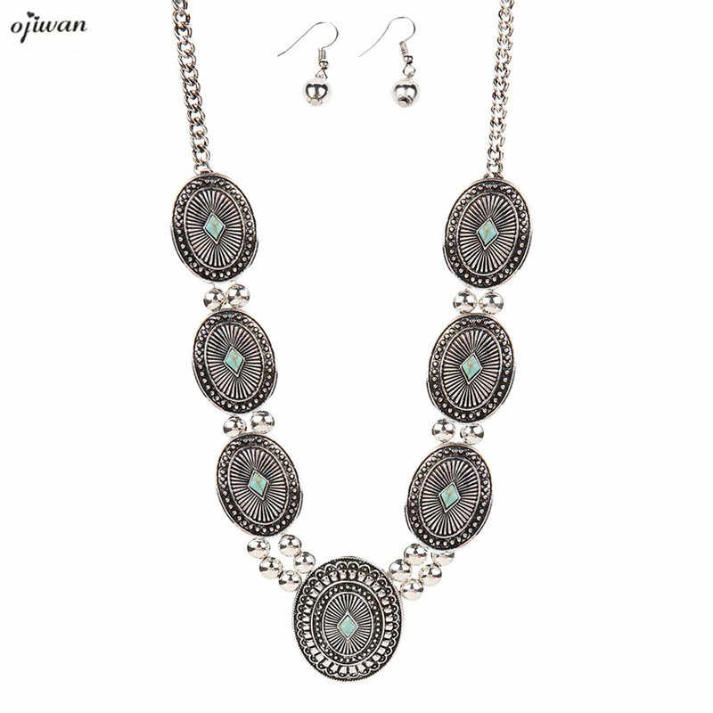 Bohemian Necklace Women Jewelry Necklace Boho Necklace Gypsy Tribal Necklace Bohemian Jewelry 2019