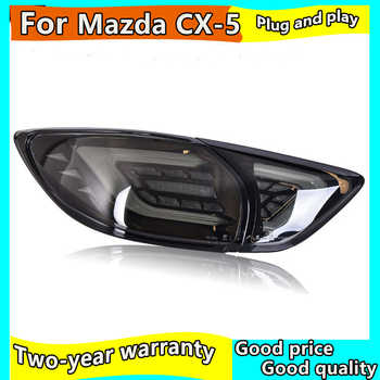 Car Styling for Mazda CX-5 Taillights 2013-2018 CX5 LED Tail Lamp New CX-5 LED Rear Lamp DRL+Brake+Park+Signal led light