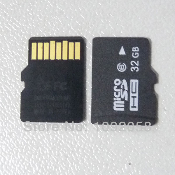 brand new Original 32GB Micro SD HC SDHC Card Class 6 TF Flash Memory Card High Speed with retail box