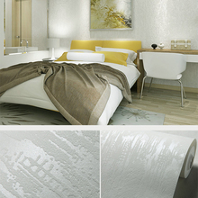 цена на Modern Minimalist Luxury Embossed Horizontal Striped Wallpaper Living room Sofa Wall Decor Design Grey Stripe Wall paper Rolls