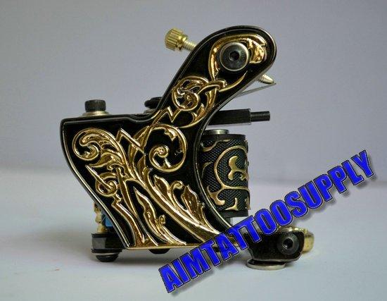 New tattoo machine 12 coil high quality tattoo machines free ...